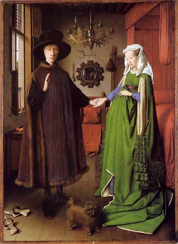 The Arnolfini Portrait - jan Van Eyck 1434