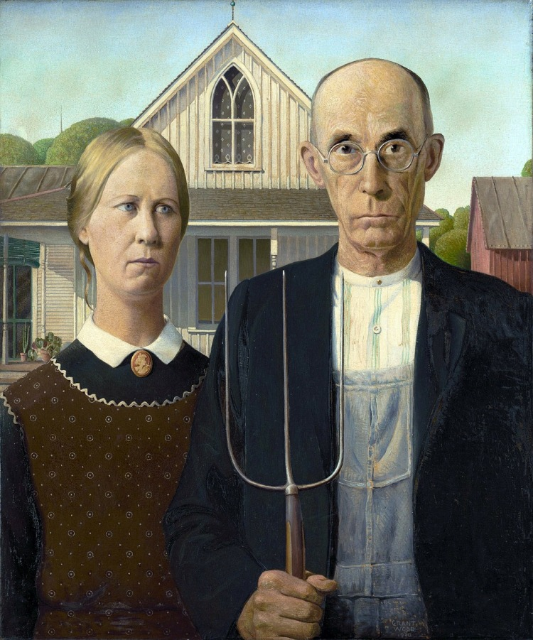 American Gothic - Grant Wood 1930.